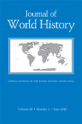 [Journal of World History cover]