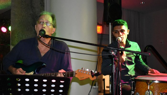 Local musicians entertain at Afro-Caribbean Music Night